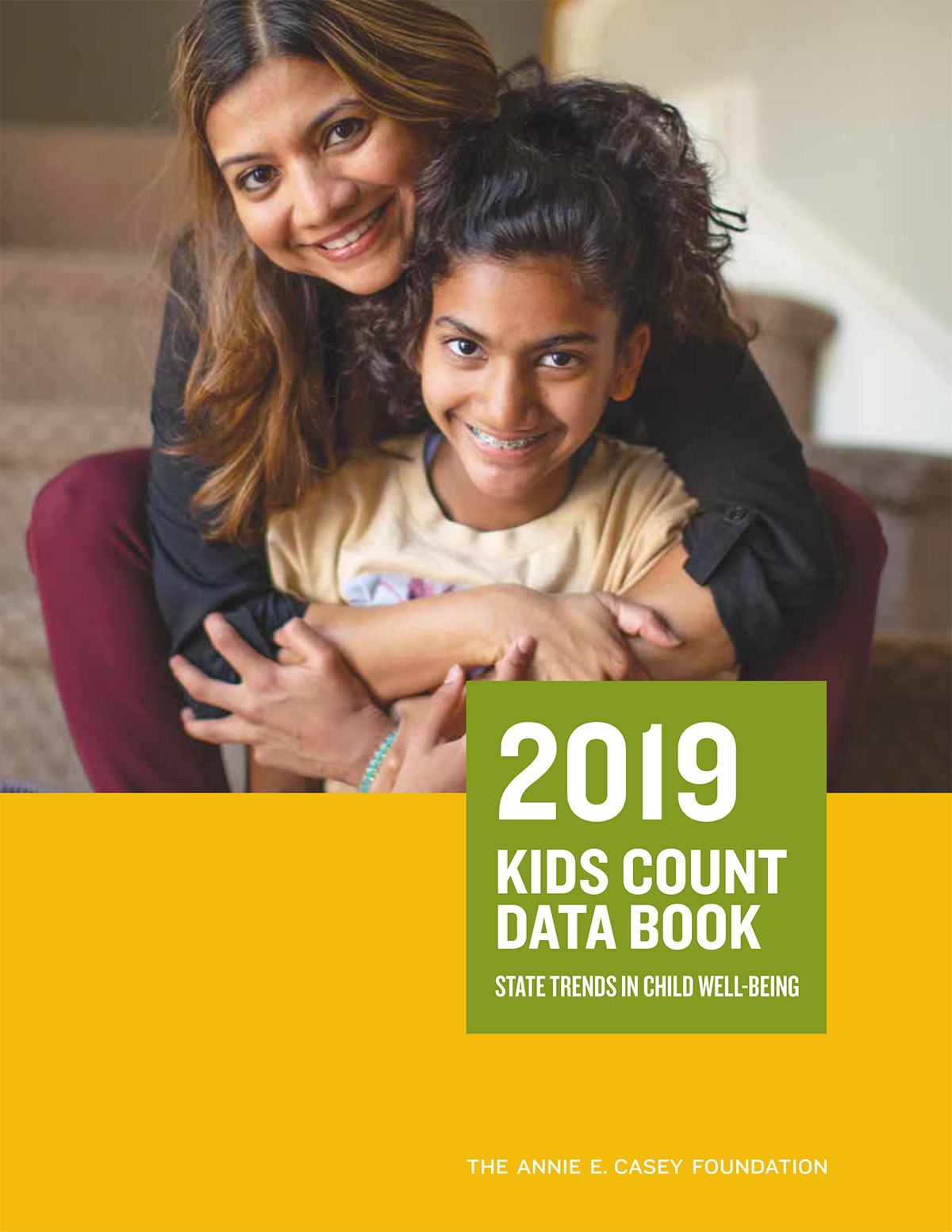 2019 aecf- kids count data book cover