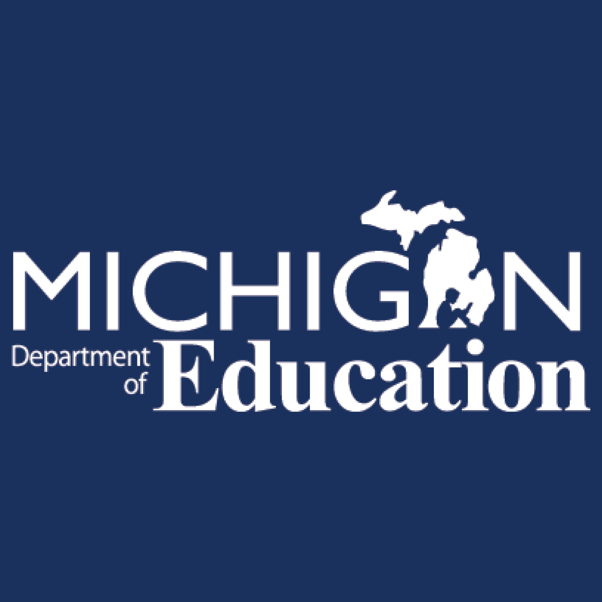Michigan Department of Education link to MICHIGAN ONLINE EDUCATOR CERTIFICATION SYSTEM